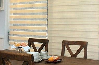 Купити жалюзі в Києві, ціни на тканинні ролети, вертикальні, горизонтальні, алюмінієві, дерев'яні жалюзі
