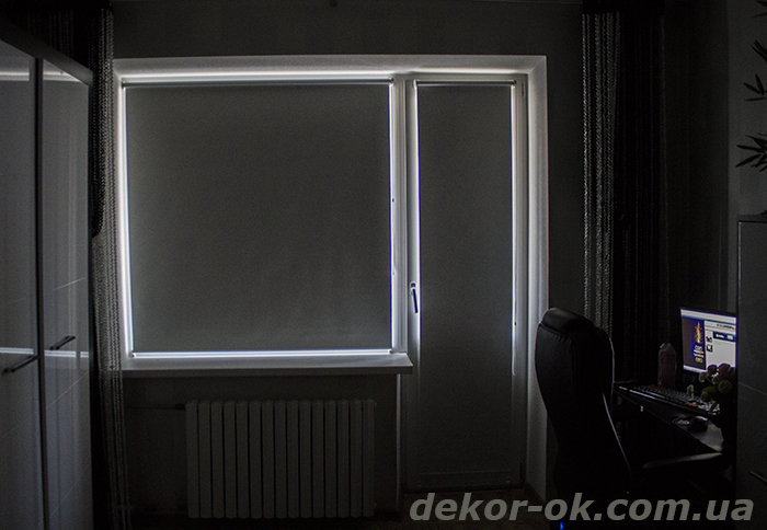 тканевые ролеты Blackout